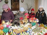 Velikonoční jarmark se konal v dačickém zámku a v prostorách muzea.