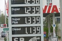 K čerpací stanici v rakouském Litschau jezdí nankovat i řada Čechů. Aktuální cena z tohoto týdne.