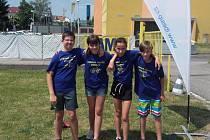 Družstvo ze 3. základní školy David Camrda, Eliška Bláhová, Tereza Camrdová a Tomáš Pajer skončilo na krajském kole dopravní soutěže mladých cyklistů čtvrté.