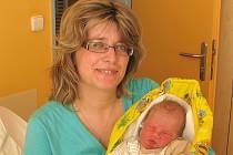Matěj Šebesta se narodil 11. března 2014 v 16 hodin a 53 minut Evě a Martinovi Šebestovým ze Studené. Vážil 3600 gramů a měřil 51 centimetrů.