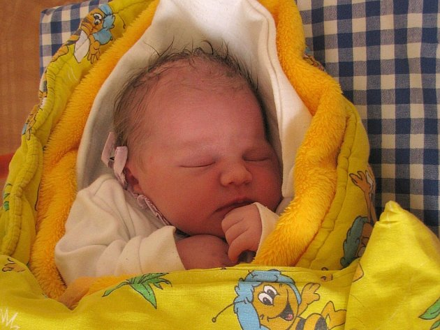 Viktorie Kadlecová z Jindřichova Hradce se narodila 16. ledna 2014 Lence Chocholové a Tomáši Kadlecovi. Vážila 3500 gramů a měřila 51 centimetrů.