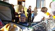 Zábavné odpoledne plné dýní si užily děti v Žíteči.