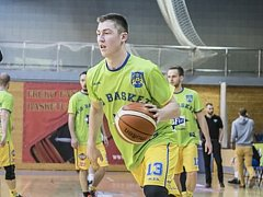 Hradecký basketbalista Štěpán Fical.