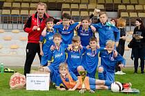Žáci z dačické Základní školy B. Němcové se probojovali do celostátního finále McDonald´s Cupu v Olomouc, kde obsadili 12. místo.