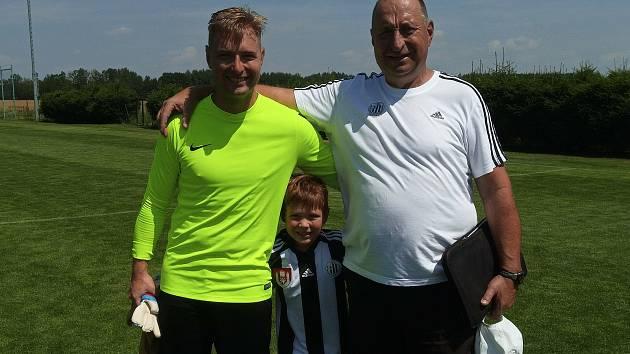Trenér Petr Skála se v Třeboni sejde se svým synem, brankářem Jakubem.