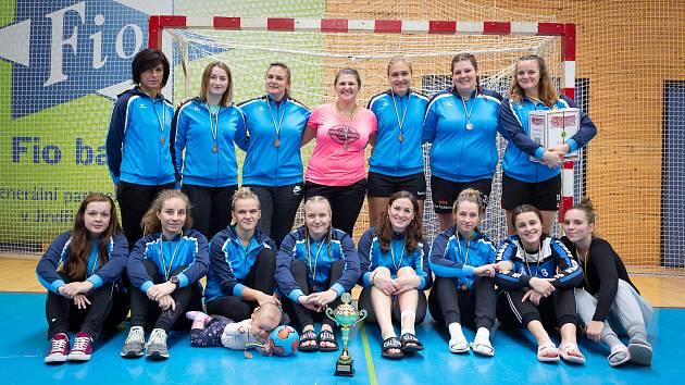 Družstvo žen Házené Jindřichův Hradec přezimovalo na osmé příčce I. ligy.