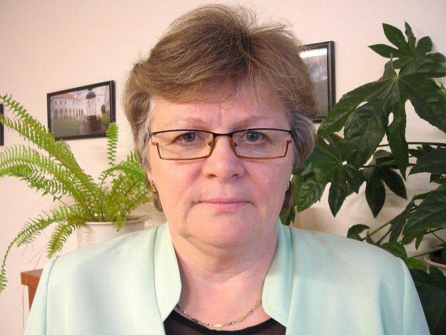 Ředitelka Úřadu práce v J. Hradci Stanislava Zemanová.