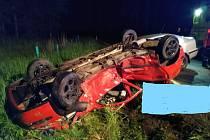 Tragická nehoda se stala v neděli 2. června krátce před devátou hodinou večer poblíž Dolního Bolíkova.