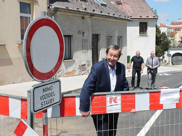V pátek odpoledne se Václavská otevřela po třech měsících oprav.