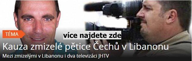 Kauza unesených Čechů vLibanonu