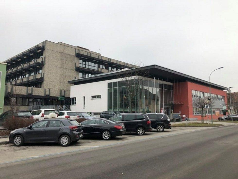 Rakouská nemocnice v Gmündu.