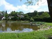 Návesní rybník v Senotíně u Nové Bystřice byl odbahněn.