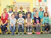 Prvňáčci ze základní školy ve Stráži nad Nežárkou.