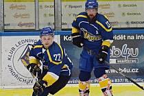 Hokejisté Vajgaru bojují o účast v play off krajské ligy.