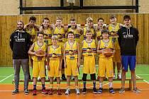 BK Lions Jindřichův Hradec - tým ligových mladších žáků U14.