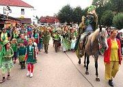 Přelom července a srpna patří v Chlumu u Třeboně vodníkům.