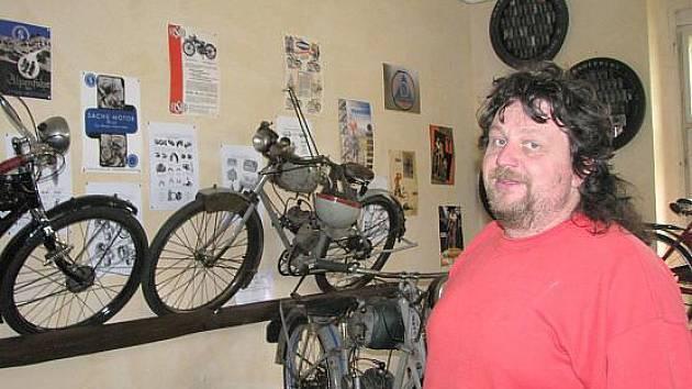 Muzeum motokol v Horní Radouni.