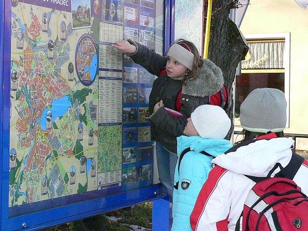 Multimediální mapa na Masarykově náměstí