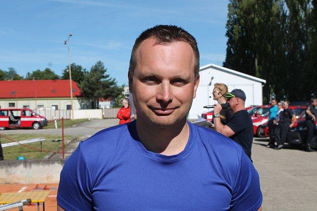 Martin Hrádek je trenérem jihočeského reprezentačního družstva hasičů.