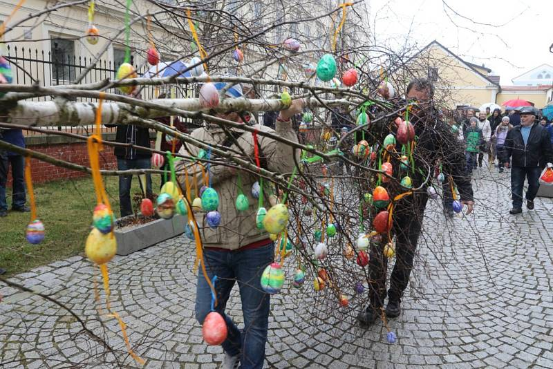 Velikonoční veselice v Muzeu Jindřichohradecka bavila velké i malé.