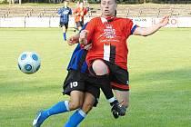 Nejzkušenějším hráčem jindřichohradeckého Slovanu je obránce Petr Hejl, který před časem ještě v dresu Třeboně okusil i třetí ligu.