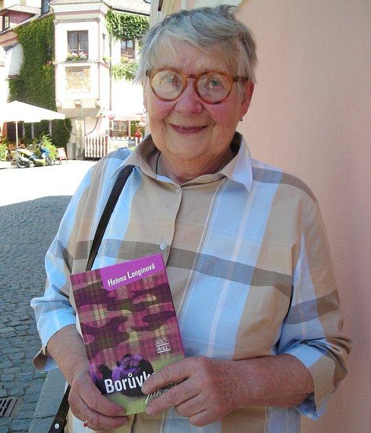 Spisovatelka Helena Longinová.