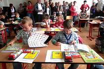Začátek školy ve 4. základní škole v J. Hradci.