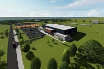 Nový zimní stadion by měl vzniknout mezi fotbalovým hřištěm a tenisovými kurty v Třeboni v lokalitě Hliník.