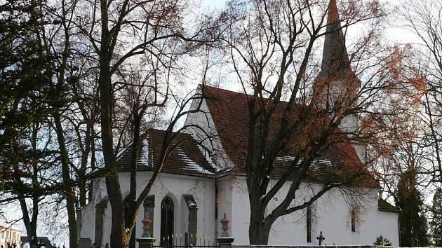 Kostel svatého Václava v Jindřichově Hradci. Ilustrační foto.
