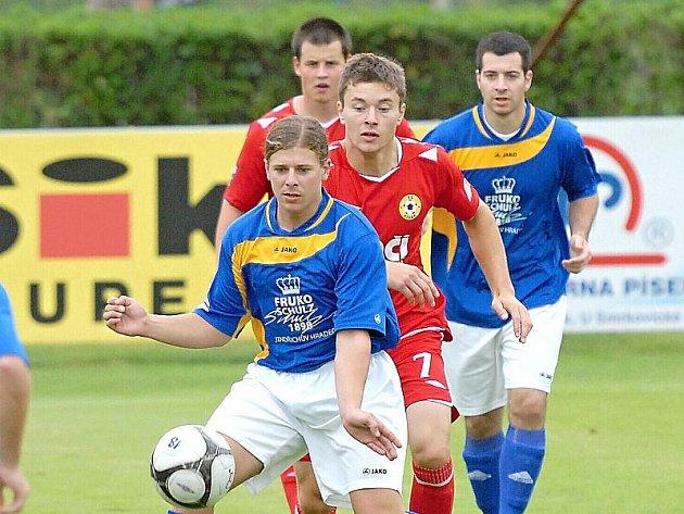 Jindřichohradečtí fotbalisté prohráli na půdě píseckého béčka 1:4.