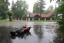 Kuriózní čtvrteční nehoda u Majdaleny.
