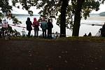 Začal výlov rybníka Rožmberk. Tentokrát však kvůli covidovým opatřením bez diváků.