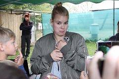 Loučení s létem v zooparku Na Hrádečku bylo spojené s křtem malé surikaty i spoustou zábavy pro děti.