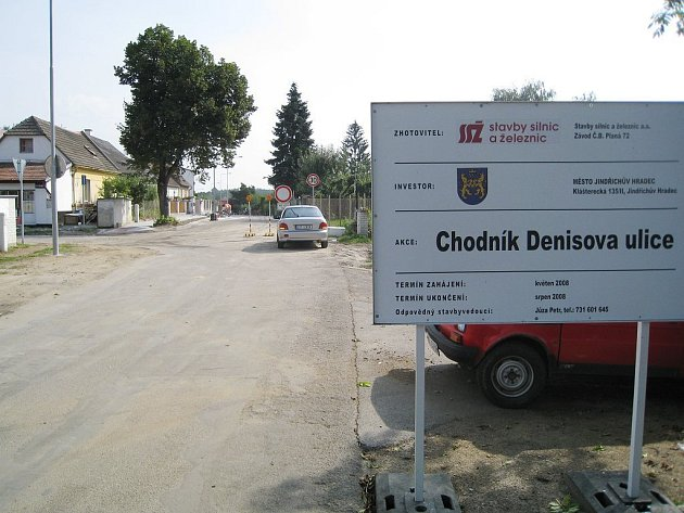 Denisova ulice prošla rekonstrukcí.