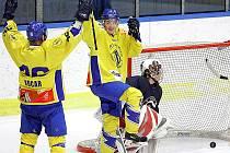Do sítě Chotěboře se hokejisté Vajgaru trefili celkem sedmkrát.