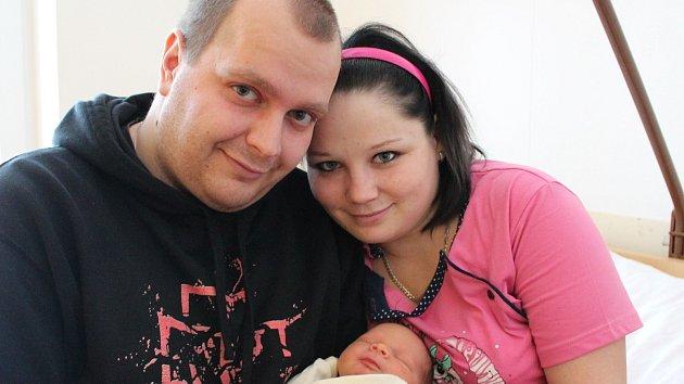 Ondřej Šenkýř se narodil 30. listopadu Janě Lubinové a Ondřeji Šenkýřovi z J. Hradce. Měřil 47 centimetrů a vážil 3 250 gramů.