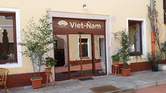 Restaurace Viet-ňam v Klášterské ulici v Jindřichově Hradci.