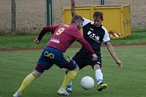 Fotbalisté Suchdola (v černém) zvítězili na půdě Nové Bystřice 3:1, Foto: Andreas Berger
