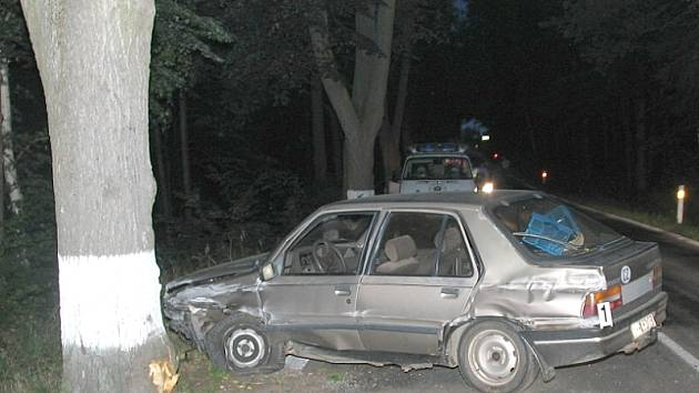 Nabouraný vůz byl značky peugeot.