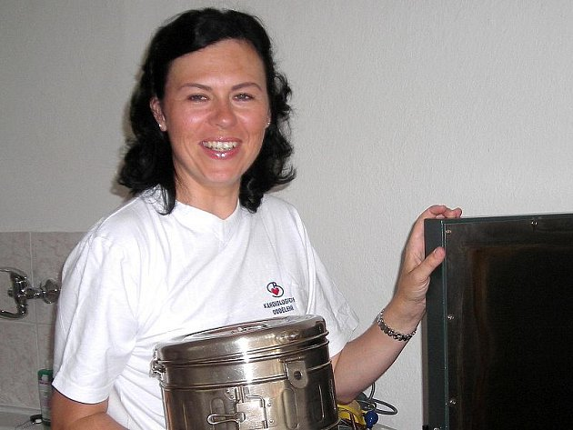 Martina Huleová pomáhala v začátcích při zajišťování Lékařské služby první pomoci v Třeboni.