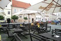 Slavonické náměstí. Ilustrační foto.
