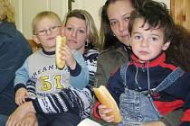 Zápis dětí do mateřské školy v jindřichohradecké Růžové ulici.