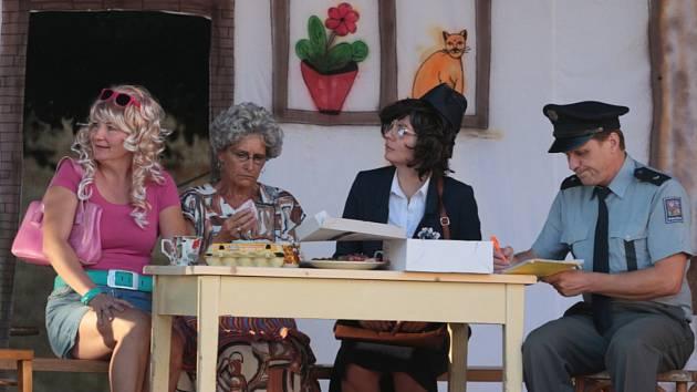Divadelní představení Rodinný poklad.