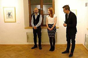 Výstava Hadí muž a tanečnice v Třeboni