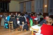 V kulturním domě v Horní Radouni se odehrálo setkání místních i obyvatel z okolních obcí.