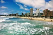 Provincie KwaZulu/Natal, kterou cestovatelé navštívili, je jednou z devíti provincií Jihoafrické republiky.
