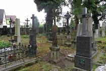 Hřbitov u svatého Václava.