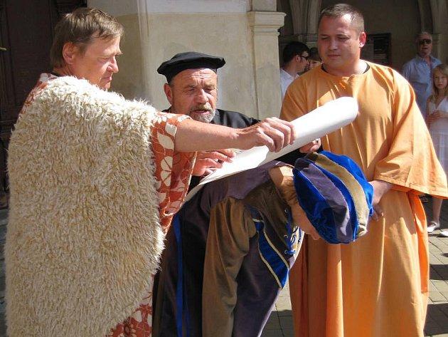 Slavoničtí slavili 750 let od první zmínky o městě.