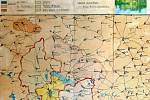 Mapy a plány, které Muzeum Jindřichohradecka nechalo v loňském roce restaurovat.