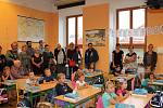 První školní den na 1. ZŠ v Jindřichově Hradci.